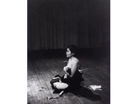 Yoko Ono Cut Piece 1965