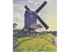 Van Rysselberghe - Le moulin du Kalf a Knokke 1894