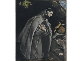 El Greco Sain Francis in