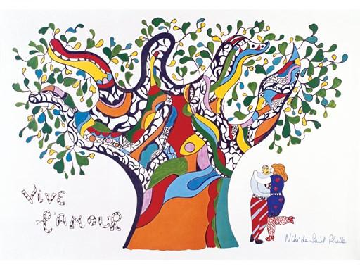 Affiche Vive l'amour