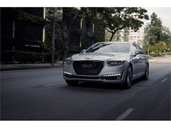 Genesis Brand Launches its G90 Luxury Flagship