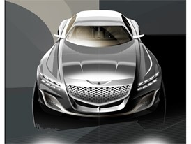 GV80 Concept Rendering (Exterior - Front)