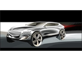 GV80 Concept Rendering (Exterior -Side)