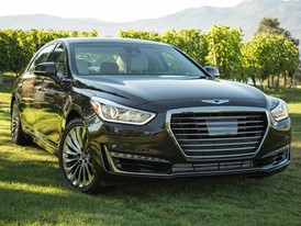 Genesis G90 Revealed as Finalist for 2017 North American Car of the Year