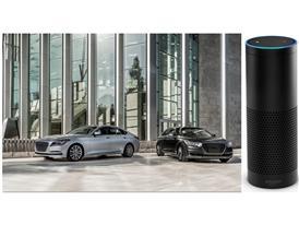 Genesis G80, Genesis G90 and Amazon Echo