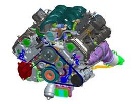 G90 5 0 liter V8 engine