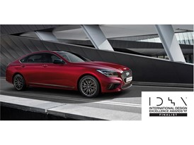 G80 Sport Named Finalist  in the 2017 International Design Excellence Awards