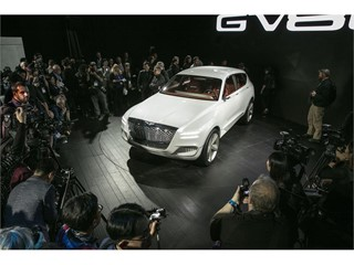 Genesis GV80 Concept Revealing