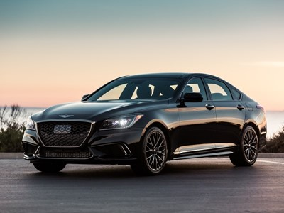 Genesis Showcases All-New 2018 G80 Sport Trim at North American International Auto Show