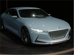 Genesis Reveals Hybrid Sports Sedan Concept At New York International Auto Show
