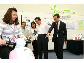 President Ma Ying Jiu visits CMC-Motor