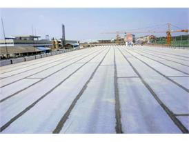 Nonwoven fabric used in road construction