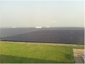 NexPower thin film installed in Shandong City, China