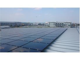 NexPower thin film installed in Japan