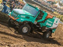 De Rooy Team Aims to Win the 2017 Dakar Rally on Goodyear Truck Tires
