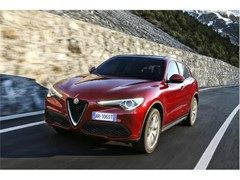 Goodyear's Eagle F1 Asymmetric 3 SUV Ultra-High Performance tire chosen by Alfa Romeo for the new Stelvio