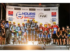 Podium lockout for Dunlop Endurance World Championship teams