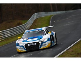 After a compelling four-hour race the Dunlop-equipped Audi R8 LMS of Frank Stippler and Anders Fjordbach won
