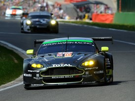 The #98 Aston Martin Vantage heads for GT-Am Victory at the FIA World Endurance Championship 6hrs of Spa