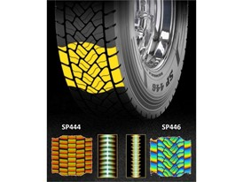 Dunlop SP446 Tread Design Low Noise