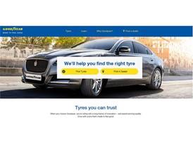 Goodyear New Web platform - Tire Finder