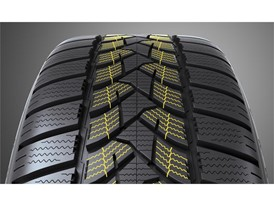 Dunlop Winter Sport 5 SUV: Angled Centre Sipes