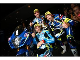 Suzuki Endurance Racing Team (Vincent Philippe, Anthony Delhalle and Etienne Masson)