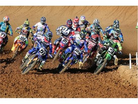 The start of MXGP Charlotte