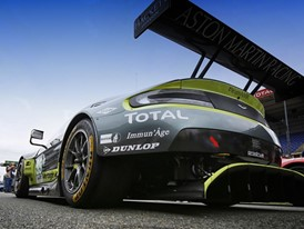 Aston Martin and Dunlop - Winners of the Teams' and Drivers' titles in the FIA World Endurance Championship GTE Category