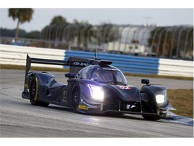 The latest Ligier was present at the LMP2 test
