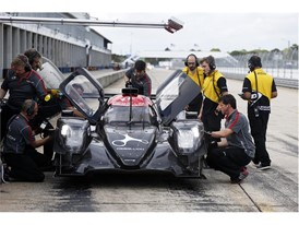 Rebellion debuted their Oreca LMP2 at the Dunlop Sebring test