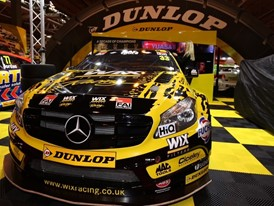 The tyre sidewall markings will be revealed at Autosport International