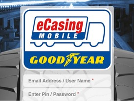 Goodyear eCasing Mobile App Login