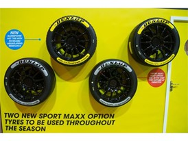 The new tyre range was unveiled at the BTCC Media Day