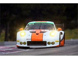 Gulf Racing experienced Dunlop tyres on their Porsche in the European Le Mans Series