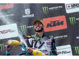 Dunlop riders take motocross win and podium in Italy