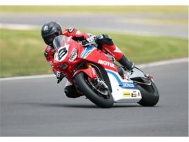 Guy Martin Dunlop tyre testing for Isle of Man TT