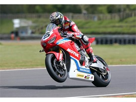 23 time TT winner John McGuinness gets some airtime in Dunlop tests