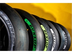 The Dunlop Moto2 Rear tyre range