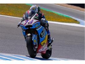 Alex Marquez Moto2 race winner in Jerez