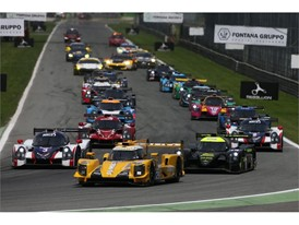 Monza ELMS Race Start