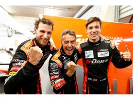 G-Drive Racing's Pierre Thiriet, Roman Rusinov & Alex Lynn