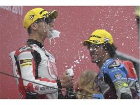 Franco Morbidelli leads Moto2 win five wins