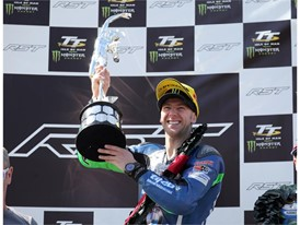 Ian Hutchinson twice topped the IOMTT podium, in Superbike and Superstock