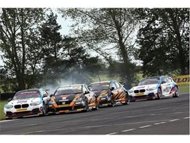15 lucky winners will join Dunlop at Knockhill's BTCC race