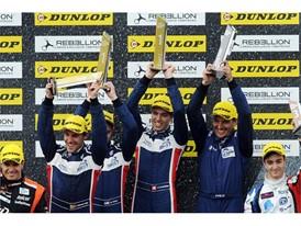ELMS LMP2 podium