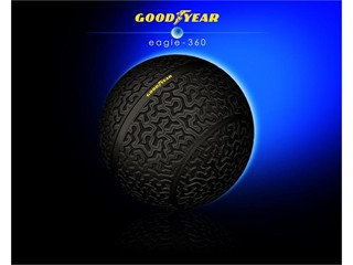 Goodyear unveils Eagle-360, a visionary tire concept for future autonomous vehicles