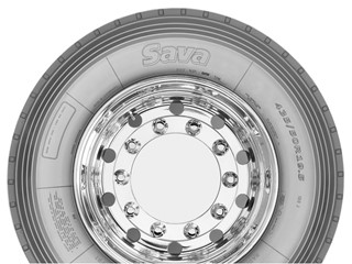 New Trailer Truck Tire Size from Sava - Mega trailer tire introduced to meet market needs
