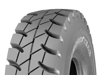 New Rigid Dump Truck Tires from Goodyear - Goodyear RM-4B+ range introduced for severe operating conditions