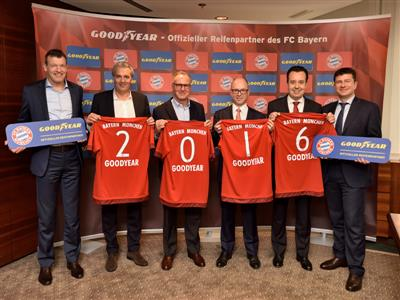 Bayern Munich names Goodyear a platinum partner